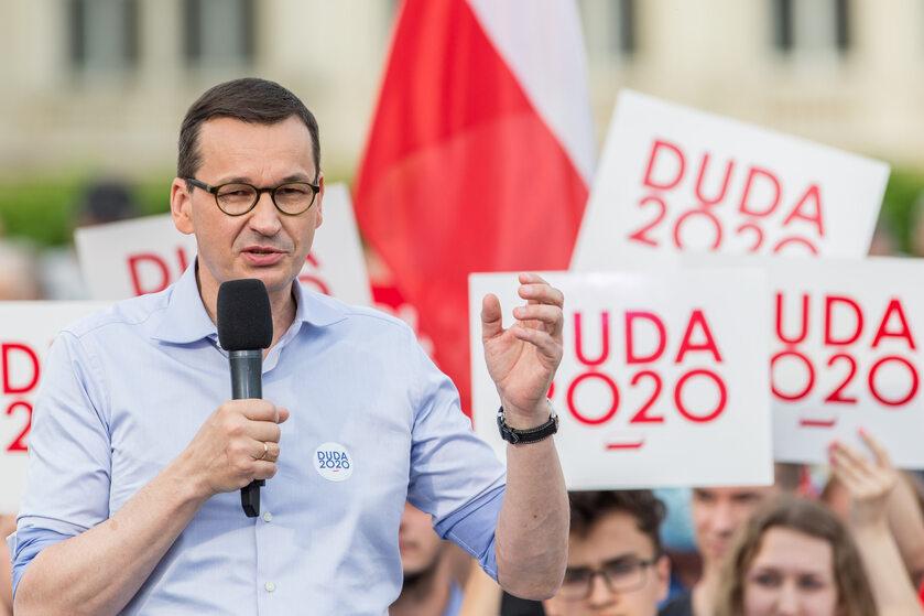 Mateusz Morawiecki na spotkaniu w Rzeszowie