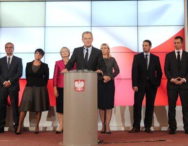 Jak Donald Tusk szukał ministrów - rekonstrukcja rekonstrukcji