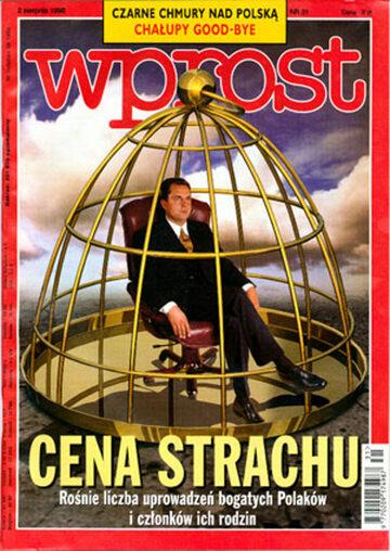 Okładka tygodnika Wprost nr 31/1998 (818)