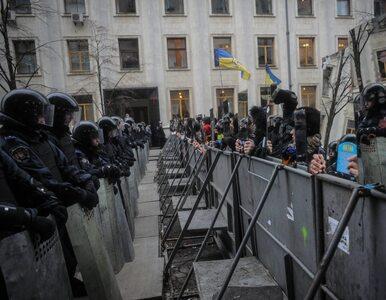 Bilans walk w Kijowie - około 30 zabitych, ponad 1000 rannych