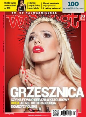 Okładka tygodnika Wprost nr 27/2012 (1533)