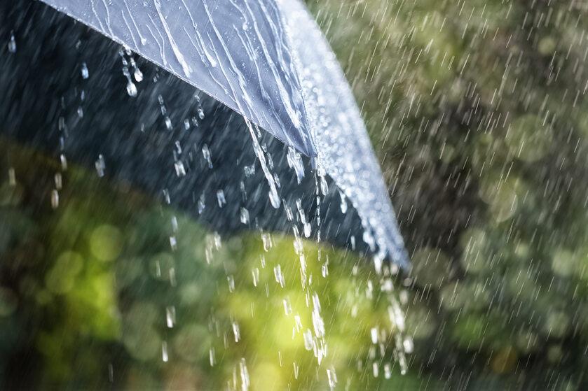 Deszcz, ulewa
