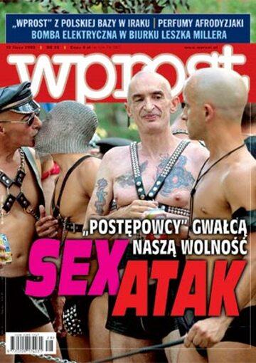 Okładka tygodnika Wprost nr 28/2003 (1076)