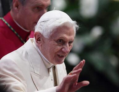 """Benedykt XVI o homoseksualizmie, """"tworzeniu ludzi w laboratoriach"""" i..."""