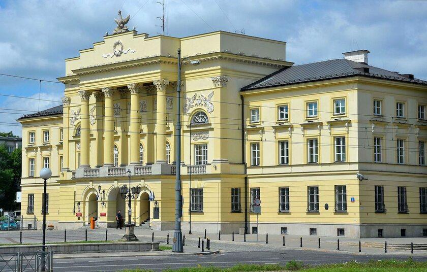 Pałac Mostowskich w Warszawie, siedziba Komendy Stołecznej Policji