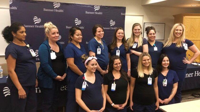 Pielęgniarki ze szpitala w Arizonie