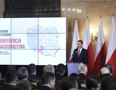 """40 mld złotych na inwestycje dla Śląska. """"To nie lista życzeń"""""""