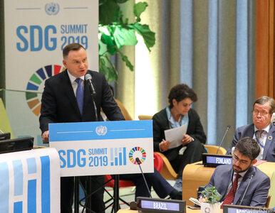 Prezydent Duda przemawiał podczas debaty w ONZ. Mówił o prawach dzieci