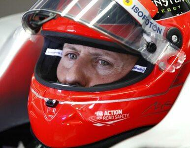 Menedżerka Schumachera: Są chwile, gdy jest przytomny