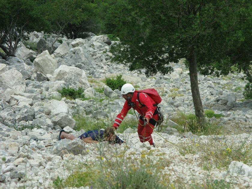 Akcja ratunkowa w Chorwacji