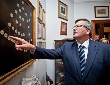 Komorowski przekazał pamiątki rodzinne do muzeum