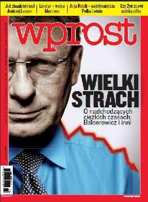 Okładka tygodnika Wprost nr 33/2011 (1488)