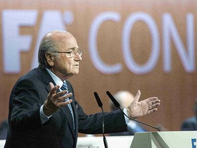 """Rosjanie komentują decyzję Blattera. """"Chce uratować FIFA przed rozłamem"""""""