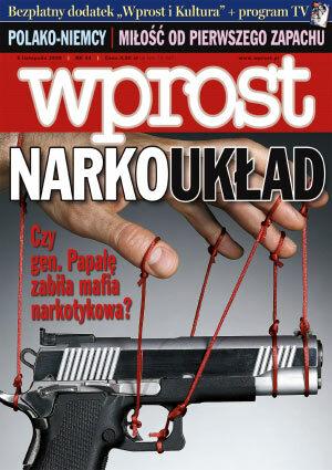 Okładka tygodnika Wprost nr 44/2006 (1246)