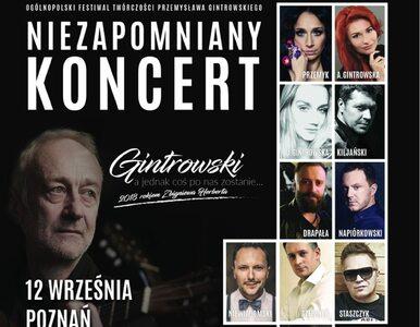 12 września gwiazdy zaśpiewają Gintrowskiego w Poznaniu