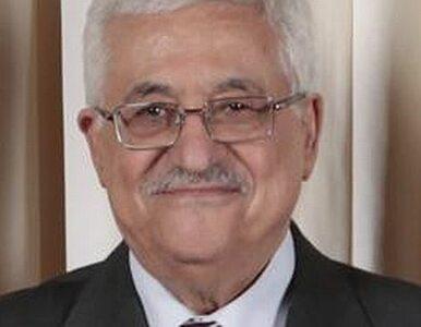 Abbas: Palestyńczyków czekają bardzo trudne chwile