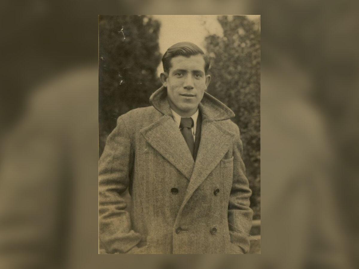 Alberto Errera, fotografia wykonana przed aresztowaniem przez Niemców