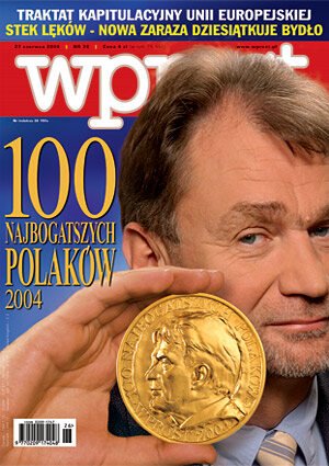 Okładka tygodnika Wprost nr 26/2004 (1126)