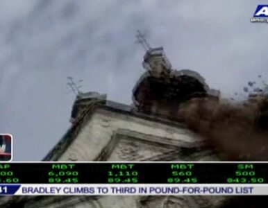 Wieża bazyliki runęła podczas trzęsienia ziemi na Filipinach