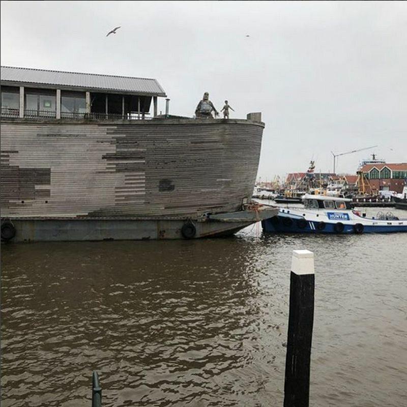 """Zniszczenia dokonane przez """"Arkę"""" Aada Petersa"""