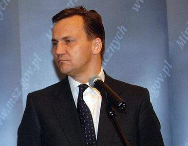 PiS krytykuje Sikorskiego za misję na Ukrainie