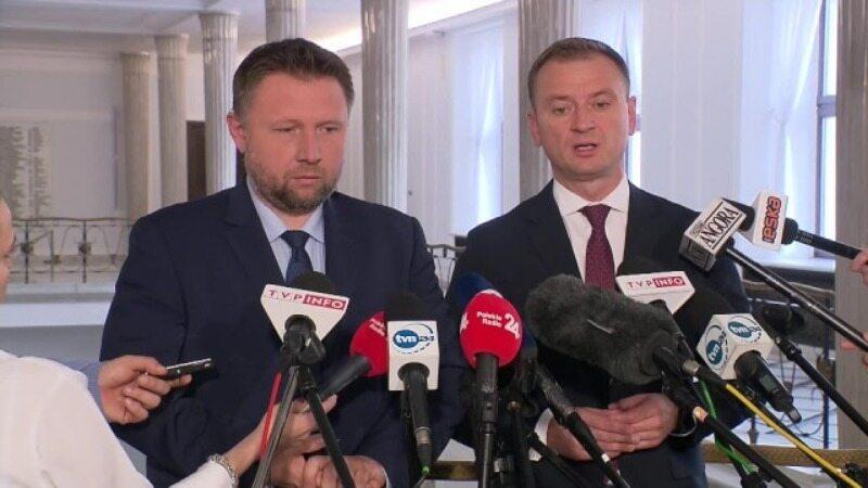 Konferencja posłów PO w Sejmie