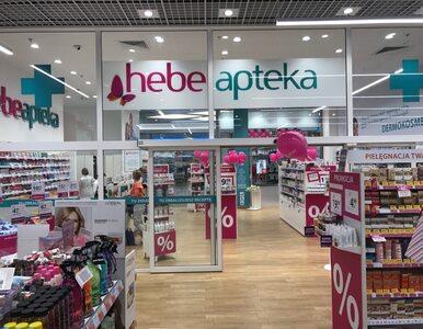 Apteki Hebe znikają z polskiego rynku. Zwolnienia grupowe pracowników