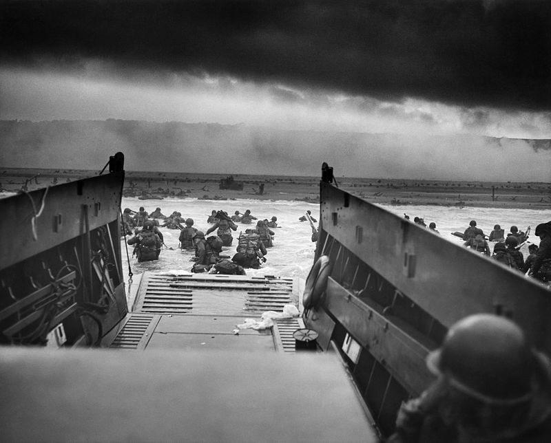 Inwazja na Normandię. Lądowanie na plaży Omaha, 6 czerwca 1944