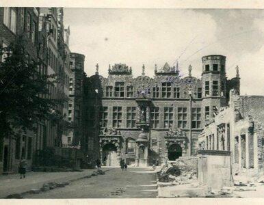 Zobacz archiwalne zdjęcia zniszczonego Gdańska z 1945 r.