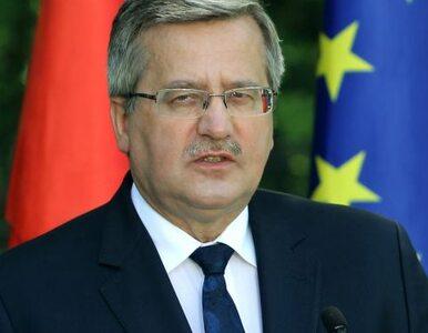 Ukraina: Komorowski przyjedzie do nas na finał Euro