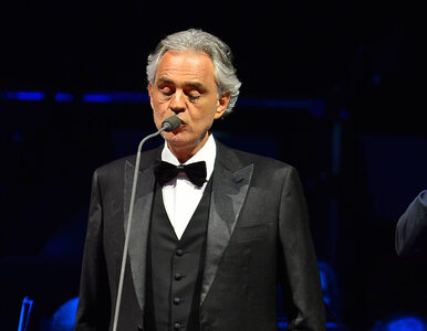 """Andrea Bocelli zaśpiewa na żywo w pustej katedrze. """"Wierzę w moc..."""