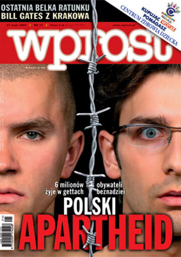 Okładka tygodnika Wprost nr 21/2004 (1121)