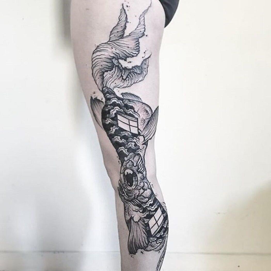 Autorem tatuaży jest Vek Van Hillik