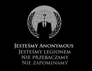 Anonymous znów atakuje polski internet