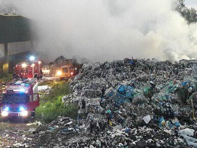 Kolejny pożar składowiska odpadów. Tym razem w Skawinie