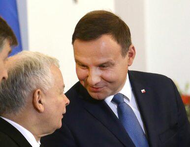 Sondaż. Duda z wynikiem 62 proc., Kaczyński zaledwie 6 proc.