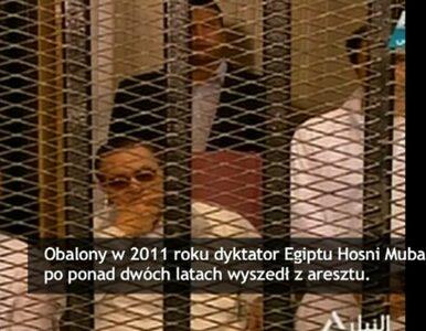 Mubarak wyszedł z więzienia. Egipska opozycja oburzona