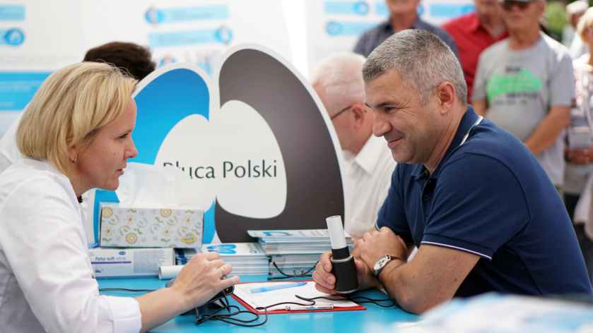 Płuca Polski. Badanie spirometryczne