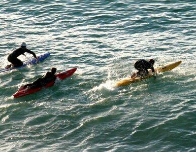Policja przejęła sprawę zaginięcia surferów
