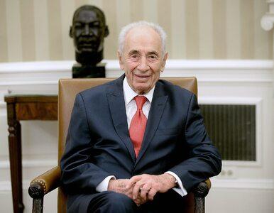 """Szymon Peres nie żyje. """"Urodził się w świecie, w którym państwo Izrael..."""