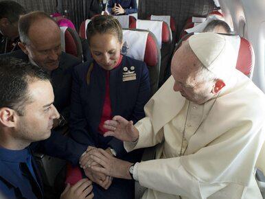 Papież Franciszek udzielił ślubu parze z dwójką dzieci. Po raz pierwszy...