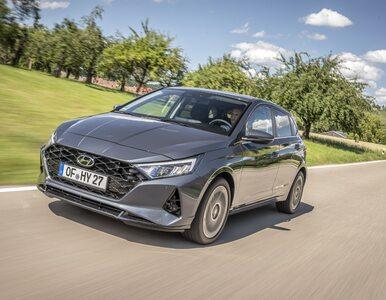 Hyundai i20 rozsądnie wyceniony. Systemy w pakiecie, gadżety za dopłatą