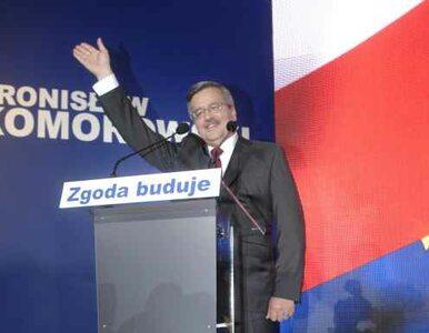 Komorowski upamiętni Lecha Kaczyńskiego podczas zaprzysiężenia