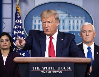 Donald Trump przedstawił plan otwierania amerykańskiej gospodarki