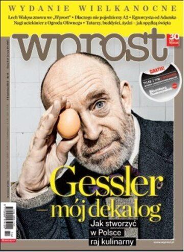 Okładka tygodnika Wprost nr 14/2012 (1520)