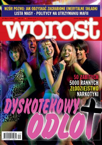 Okładka tygodnika Wprost nr 29/2003 (1077)