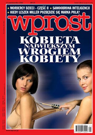 Okładka tygodnika Wprost nr 41/2002 (1037)