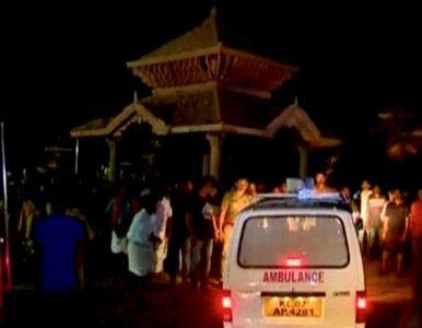 Tragiczny pożar w świątyni w Indiach. Zatrzymano pięć osób