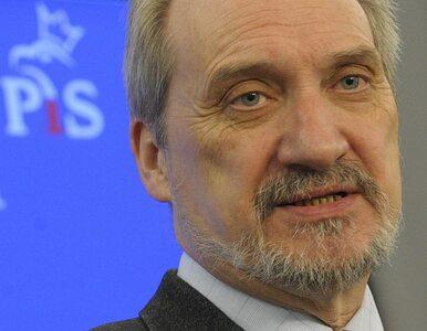 Macierewicz pomógł terrorystom i obcym wywiadom?