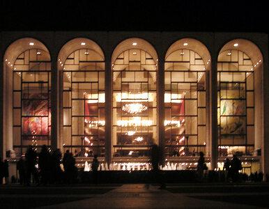 Incydent w nowojorskiej operze. Mężczyzna rozrzucił prochy zmarłego?